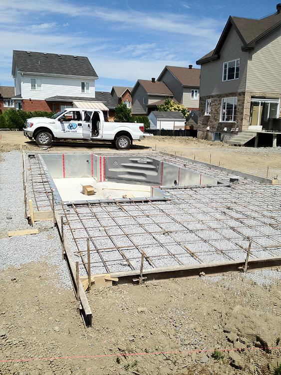 Installation piscine projet stphane for Installation piscine
