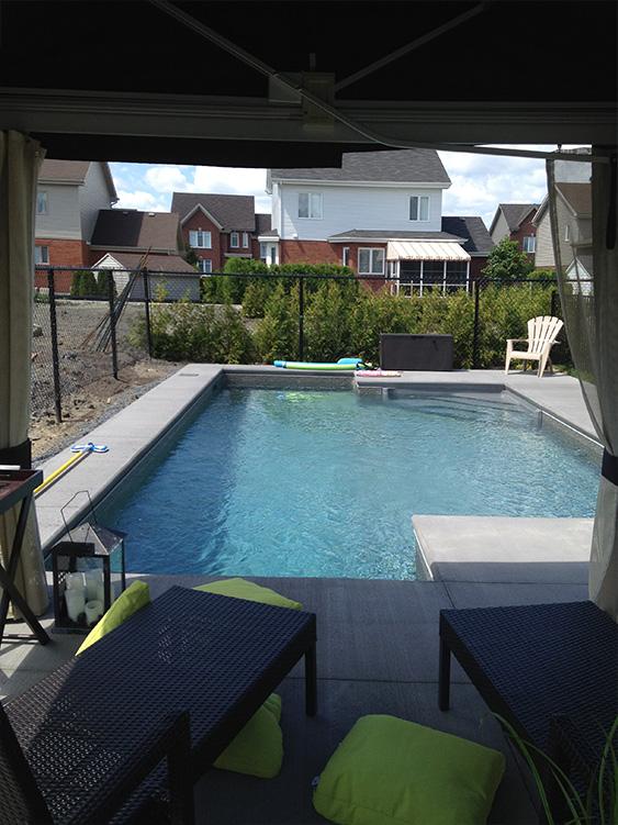 Installation piscine projet stphane for Projet piscine