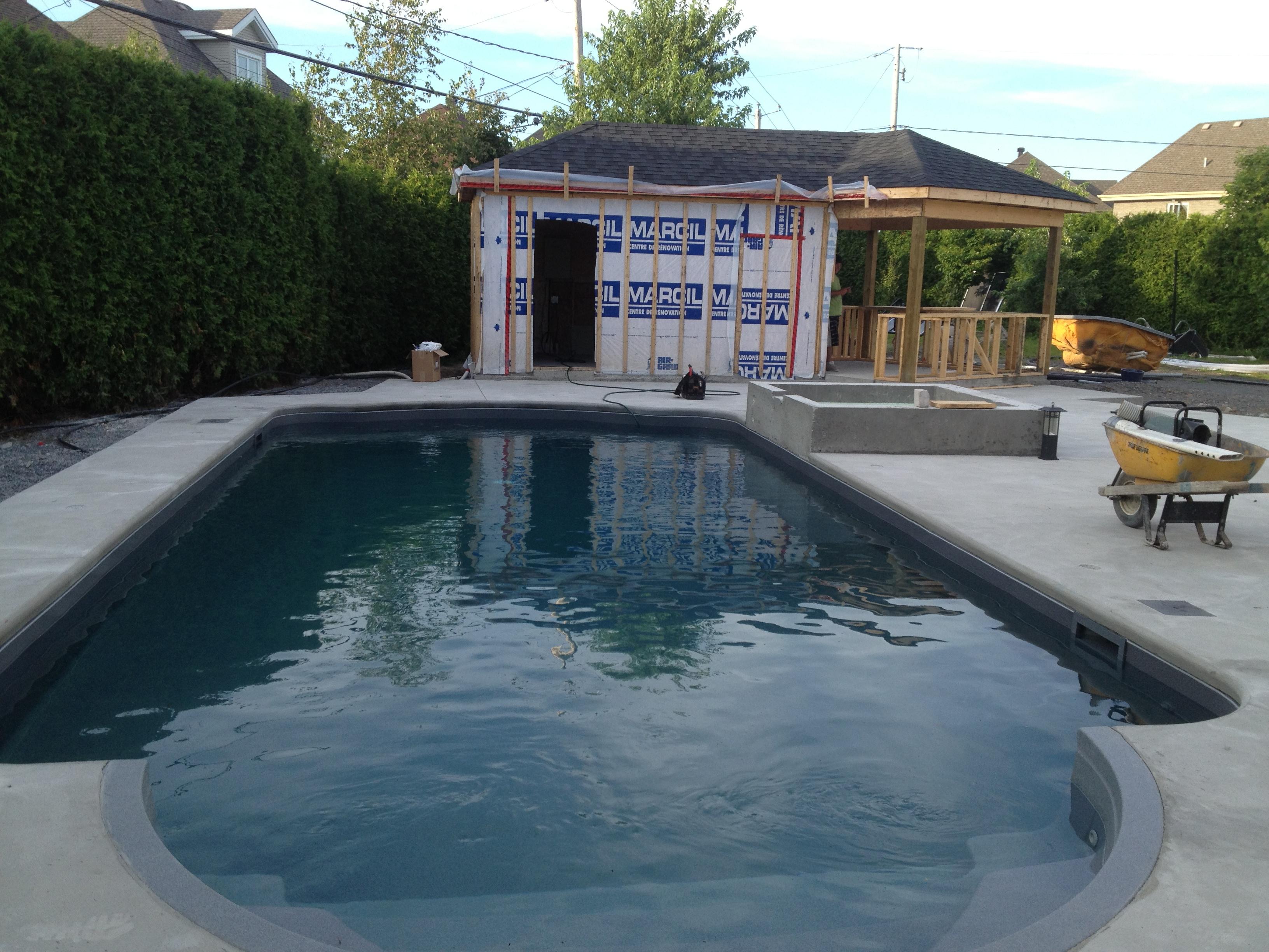 Fran ois r novation piscine en photos for Renovation piscine