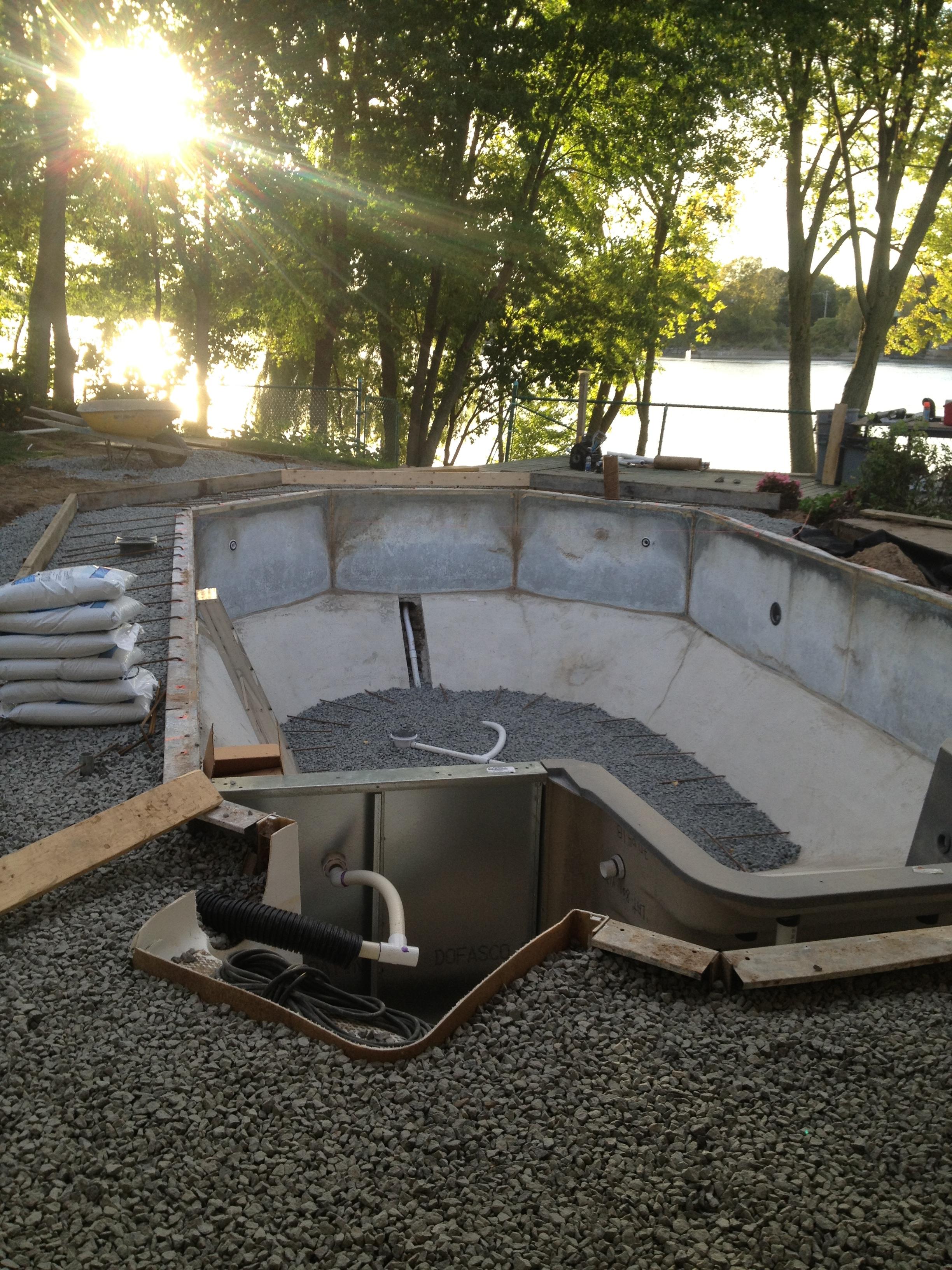 Houle rnovation piscine en vinyle for Renovation piscine