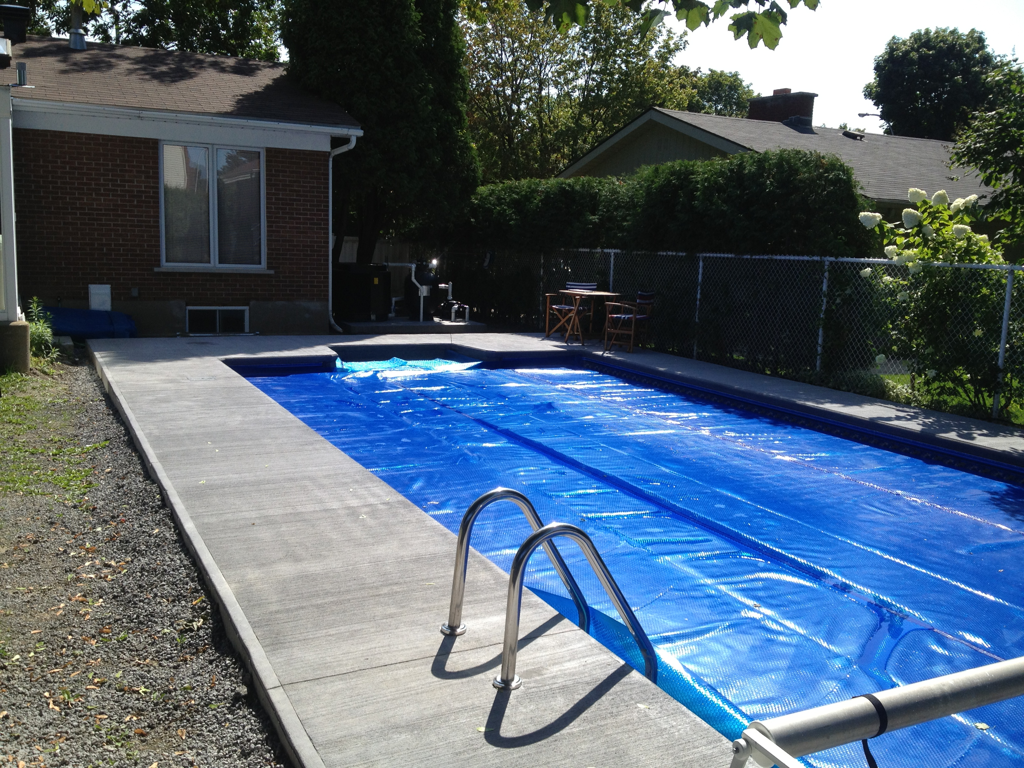 Rivard r novation piscine en vinyle for Renovation piscine
