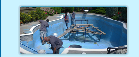 R novations de piscine creus e entreprise h2o for Construction piscine creusee